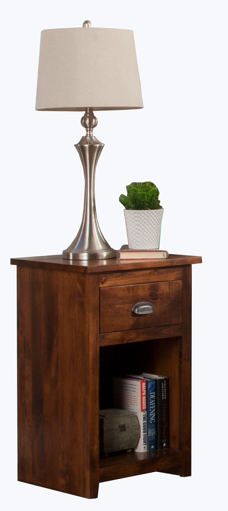 a r447 one drawer night stand odc products. Black Bedroom Furniture Sets. Home Design Ideas