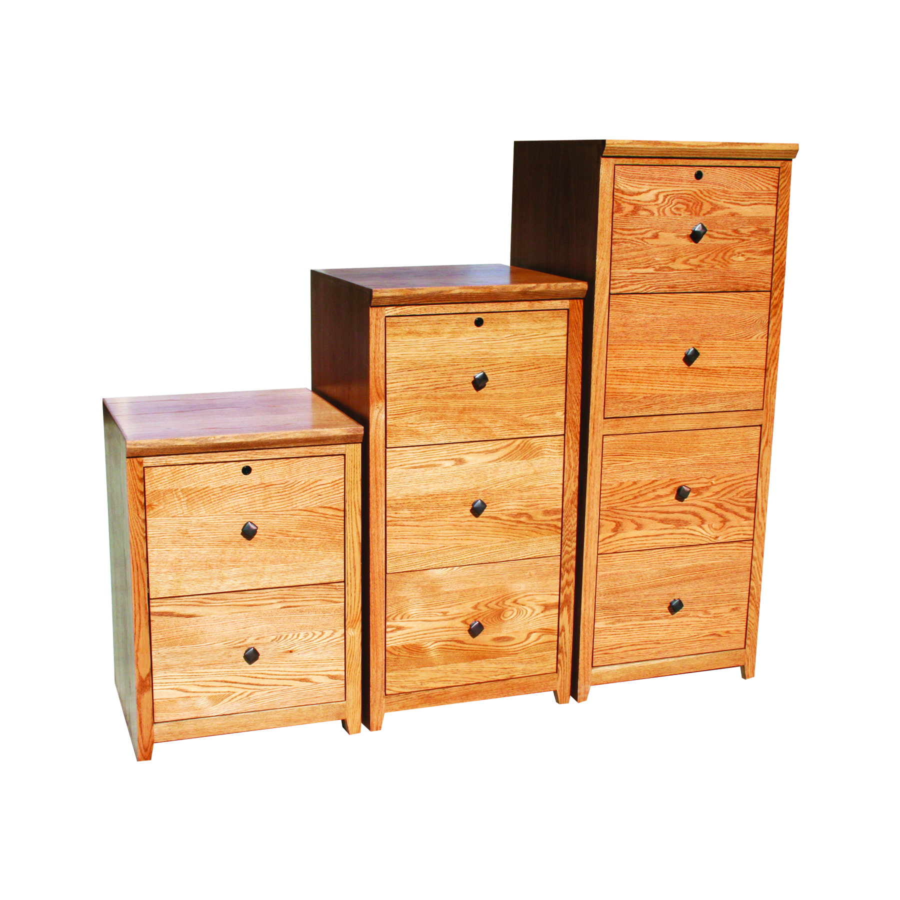 "a-s647 shaker alder 3-drawer locking vertical file cabinet, 21""w x 3 drawer locking file cabinet"